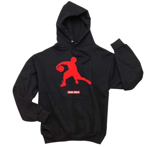 Fung Bros - Asian Jumpman Hoodie - Black