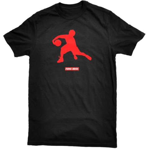 Fung Bros - Asian Jumpman Tee - Black